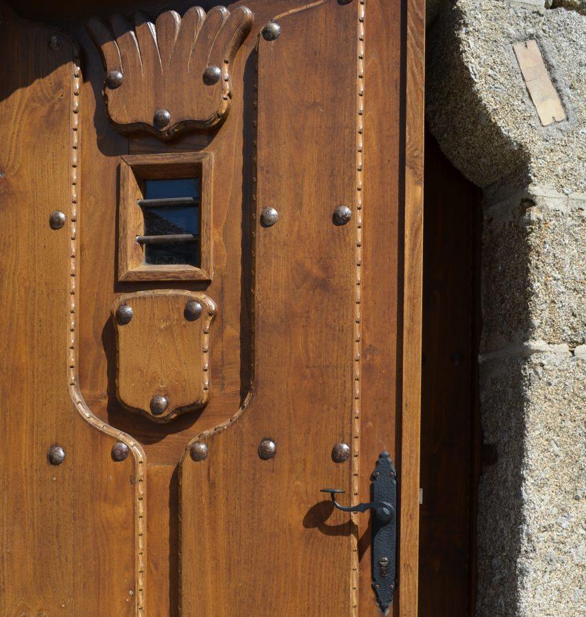 Puerta cuadrada