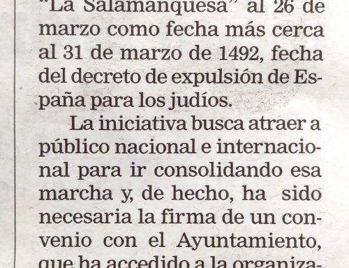 La Salamanquesa en La Gaceta Regional