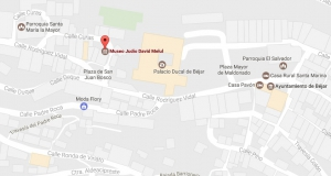 Localización del Museo Judío de Béjar