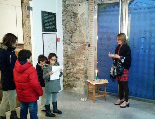 Conociendo y celebrando la Janucá en el Museo Judío de Béjar