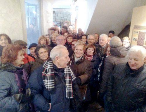 El Club de los 60, un clásico en las visitas al Museo Judío de Béjar